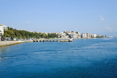 Chalcis w Grecja Zdjęcia Stock