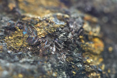 Chalcocite, Copper(I) Sulfide (Cu2S), Is An Important Copper Ore Royalty Free Stock Photo