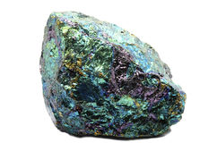 Chalcopyrite - Bornite Royalty Free Stock Images