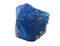 Chalcopyrite geode geological crystals Stock Image