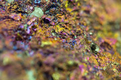 Chalcopyrite, It has the chemical formula (CuFeS2) Royalty Free Stock Photography