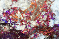 Chalcopyrite mineral background Royalty Free Stock Photography