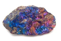 Chalcopyrite mineral Royalty Free Stock Photo