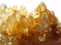 Chalcopyrite semiprecious mineral geological crystal Royalty Free Stock Images