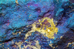The Chalcopyrite  Stone Stock Images
