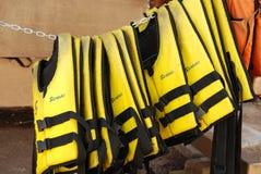 Chalecos salvavidas Foto de archivo