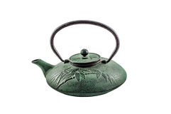 Chaleira chinesa do ferro Imagens de Stock Royalty Free