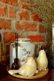 Chaleira de chá chinesa do vintage Foto de Stock
