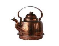 Chaleira de cobre Imagem de Stock Royalty Free