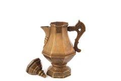 Chaleira de cobre Imagens de Stock Royalty Free