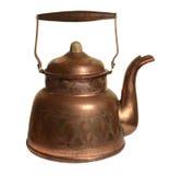 Chaleira de cobre velha Fotografia de Stock