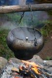Chaleira de fumo Imagens de Stock