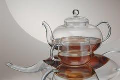 Chaleira transparente da cozinha Imagem de Stock Royalty Free