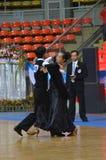 Chalenge di ballo da sala in Tailandia Fotografie Stock Libere da Diritti