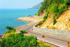 Chalerm-bhurapha-chonlatid Rd Arkivfoto