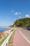 Chalerm Burapha Chonlathit Highway-Blick von Standpunkt Noen Nangphaya Stockfotos