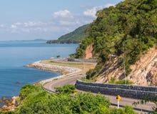 Chalerm Burapha Chonlathit Highway-Blick von Standpunkt Noen Nangphaya Stockbilder