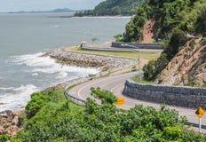Chalerm Burapha Chonlathit Highway Chanthaburi, Tailândia Fotografia de Stock