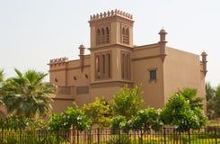 Chalet árabe foto de archivo libre de regalías