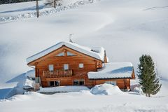 chalet foto de stock royalty free