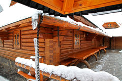 Chalet stock foto's