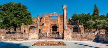Chalet Adriana cerca de Roma, Italia Foto de archivo