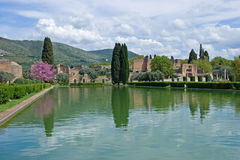Chalet Adriana, Tivoli, Lazio, Italia Foto de archivo