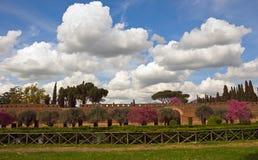 Chalet Adriana, Tivoli, Lazio, Italia Foto de archivo libre de regalías