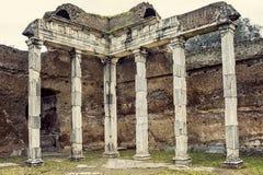 Chalet Adriana, Tivoli roma Italia Imagenes de archivo