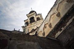 Chalet Aloisi Mansión abandonada en estilo oriental Imagen de archivo
