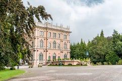 Chalet Andrea Ponti, Varese, Italia Imagenes de archivo