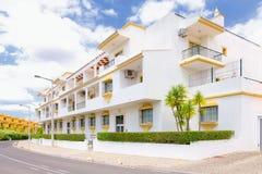 Chalet de Algarve fotos de archivo