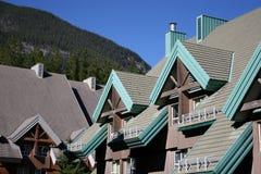 Chalet de Banff Foto de archivo libre de regalías
