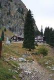 Chalet de la montaña Foto de archivo libre de regalías