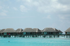 Chalet de Maldives Foto de archivo