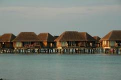 Chalet de Maldives Fotos de archivo libres de regalías