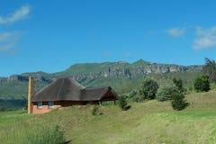 Chalet de montagne Photo stock