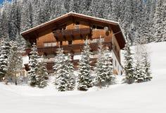 Chalet de montagne, Autriche Photographie stock