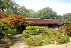 Chalet de Okochi Sanso, Kyoto, Japón Imagen de archivo libre de regalías