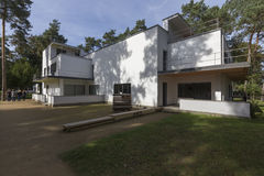 Chalet del Bauhaus Fotos de archivo