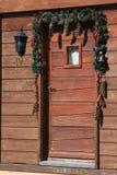 Chalet della decorazione Fotografie Stock