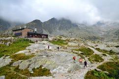 Chalet della montagna Immagini Stock Libere da Diritti