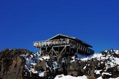 Chalet della montagna Immagine Stock
