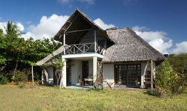 Chalet in East Africa Royalty Free Stock Images