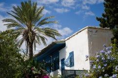 Chalet encima de la colina de Sidi Bou Saïd Fotografía de archivo libre de regalías