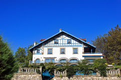Chalet in getxo Stock Photo