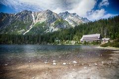 Chalet in High Tatras, Slovakia Royalty Free Stock Photos