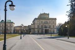 Chalet Huegel, Essen Imagen de archivo
