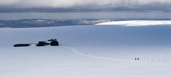 Chalet Lucni Bouda в горах Krkonose Стоковое фото RF