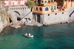 Chalet maravilloso cerca de Portofino - Italia Foto de archivo